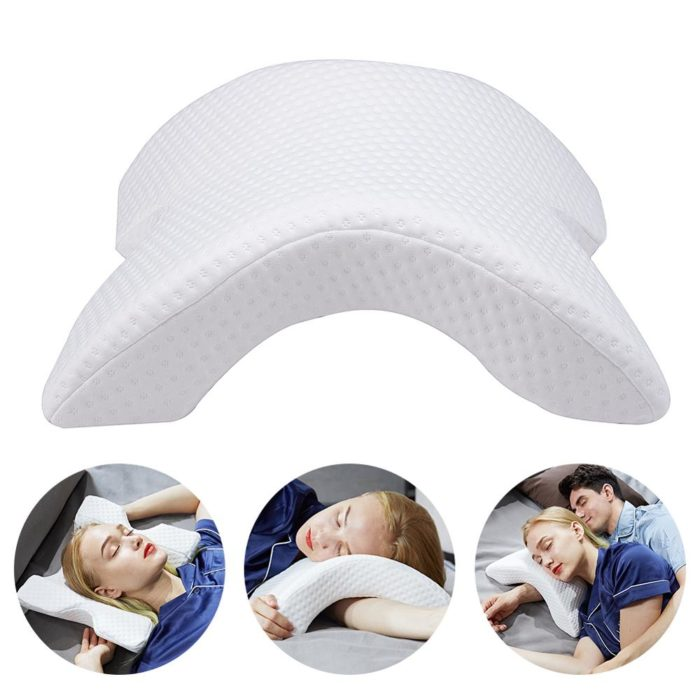 Pillow with Arm Hole Arched Shape
