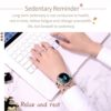 Ladies Smartwatch Elegant Timepiece