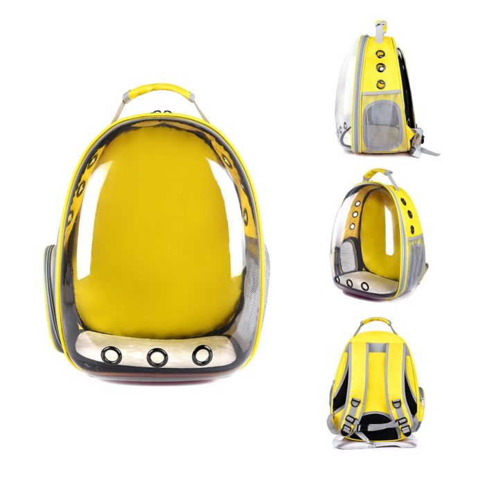 Pet Backpack Transparent Pet Carrier