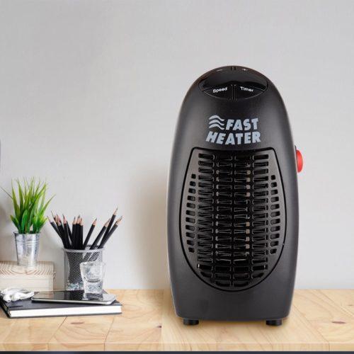 Small Electric Heater Mini Fan