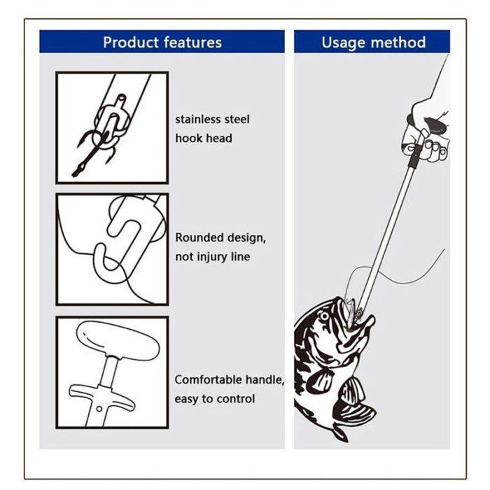Fish Hook Remover Fishing Hand Tool