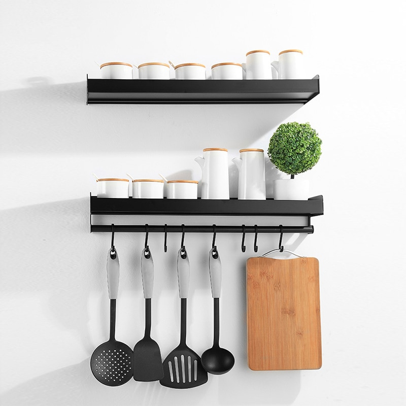 Image result for Kitchen Wall Rack Spice Organizer