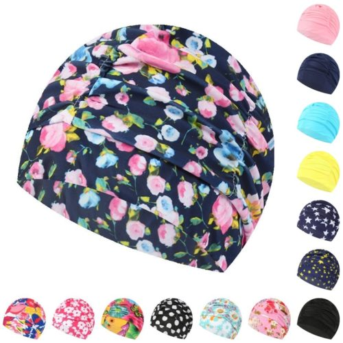 Swimming Hat Elastic Swim Cap