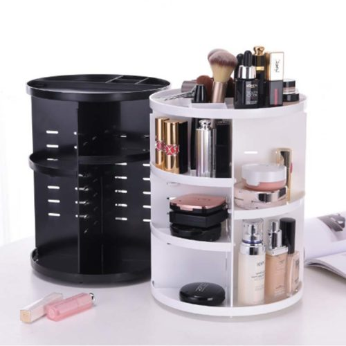 Rotating Makeup Organizer Storage Rack