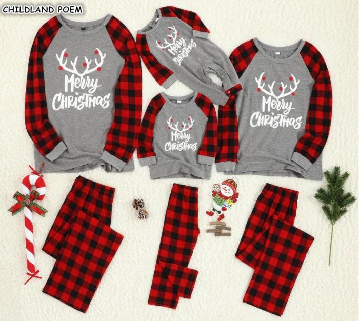 Matching Pajama Sets For Christmas