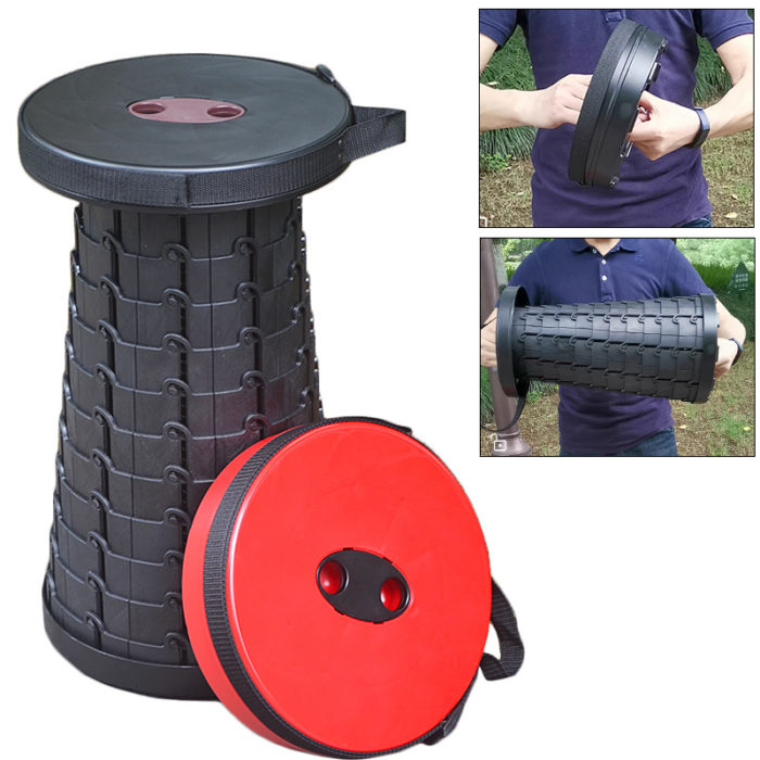 Collapsible Stool Compact Outdoor Chair