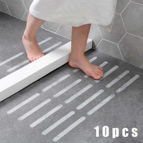 Bathtub Non Slip Stickers 10-Strips Pack
