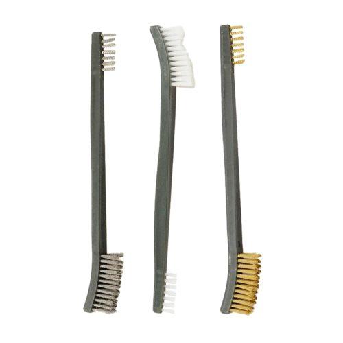 Steel Brush Brass Polishing Brush Set