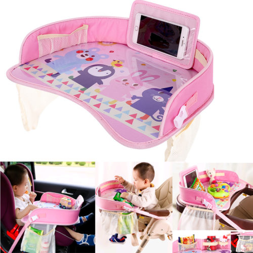 Kids Travel Tray Portable Toys Holder