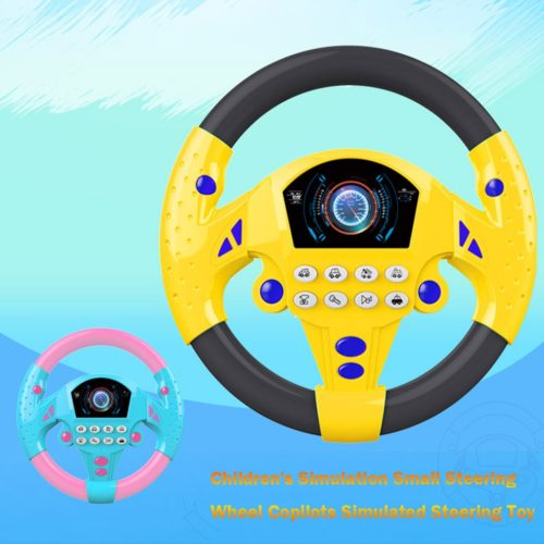 Toy Steering Wheel Driving Simulation Toys