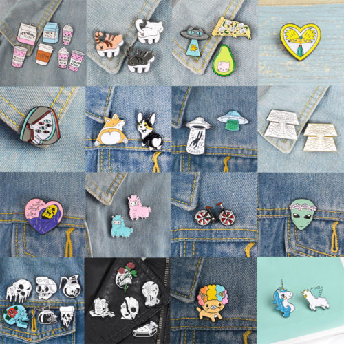 Backpack Pins Metal Brooch Accessory