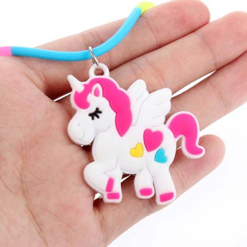 Kids Necklace Colorful Silicone Jewelry