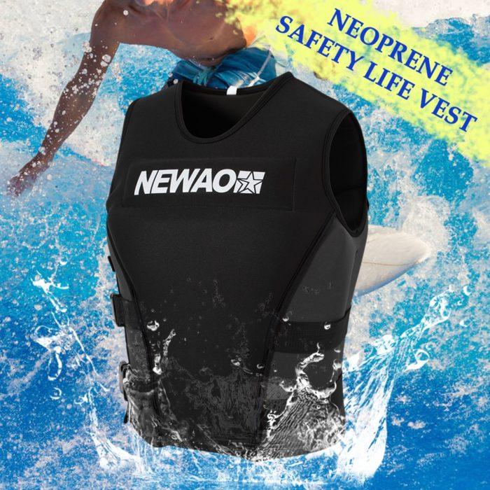 Neoprene Life Jacket Swimming Vest