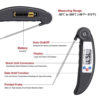 Digital Meat Thermometer Cooking Device