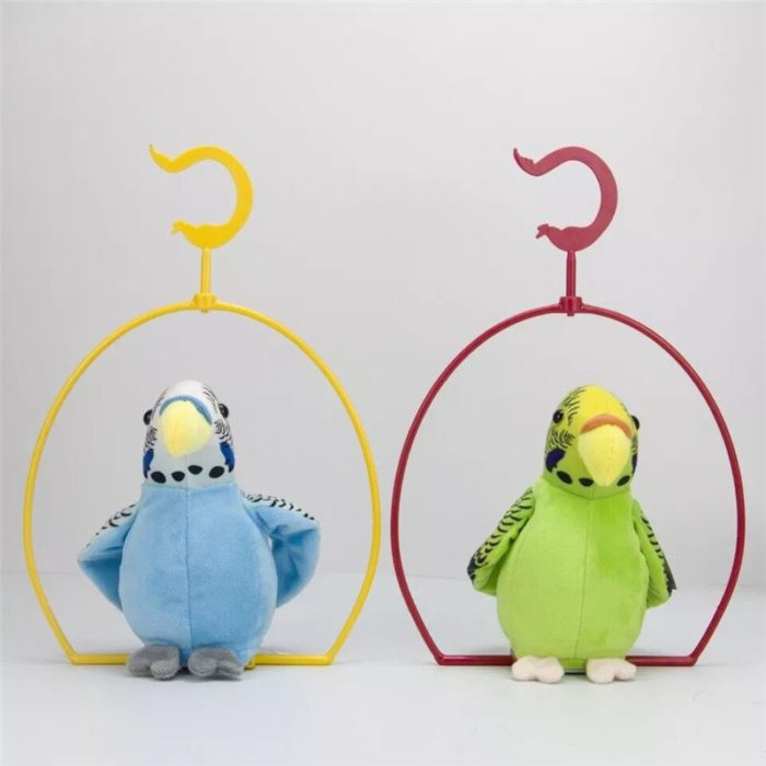Talking Parrot Toy with Hanging Shelf