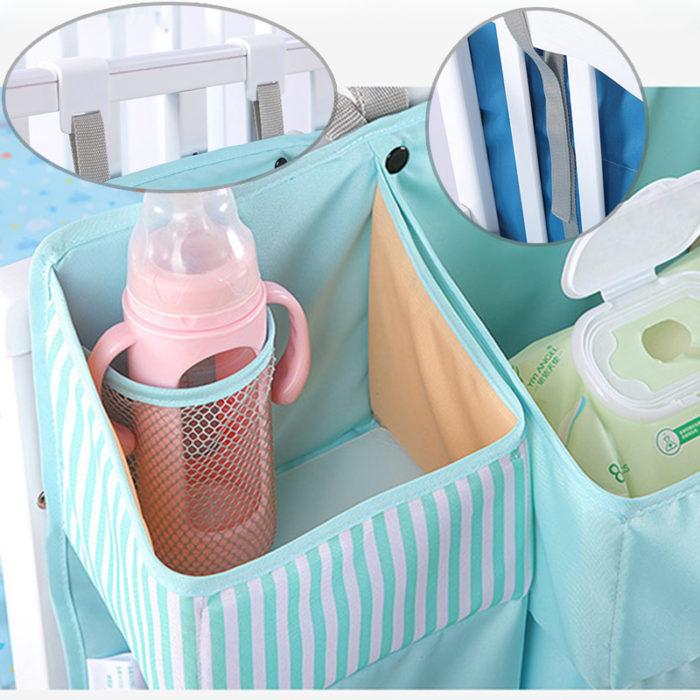 Changing Table Organizer Baby Crib Bag