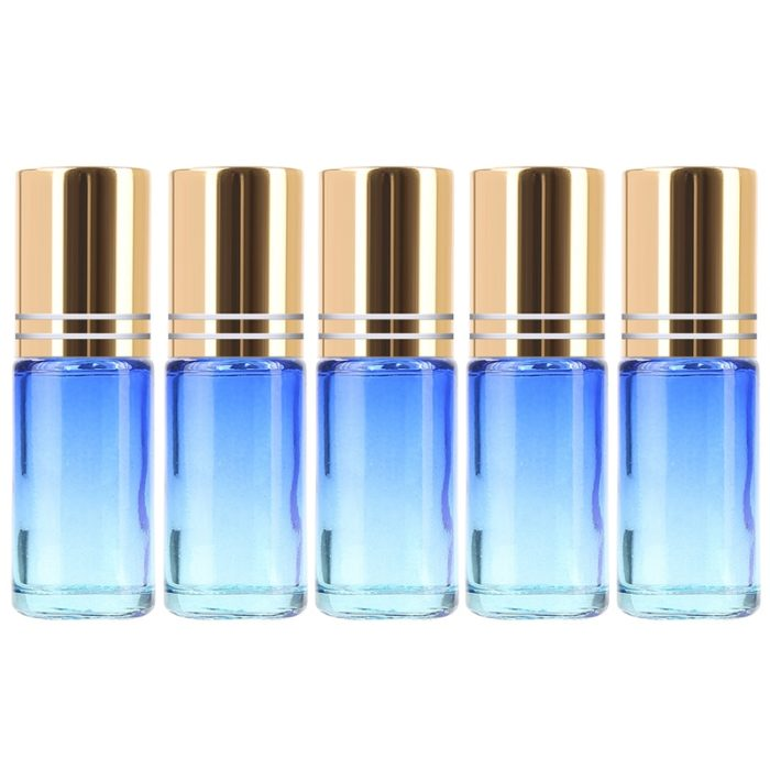 Essential Oil Roller Bottles Multi-Colored