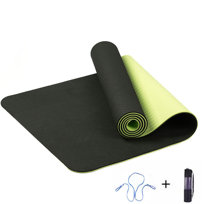 Non Slip Yoga Mat With Storage Bag