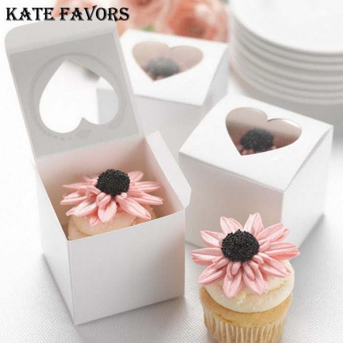 Single Cupcake Boxes Party Favors
