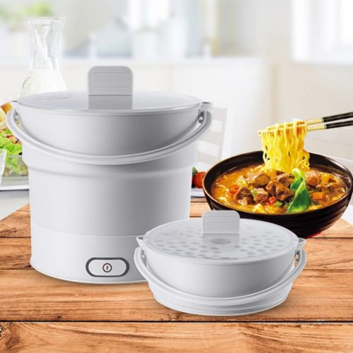 Electric Skillet Mini Foldable Pot