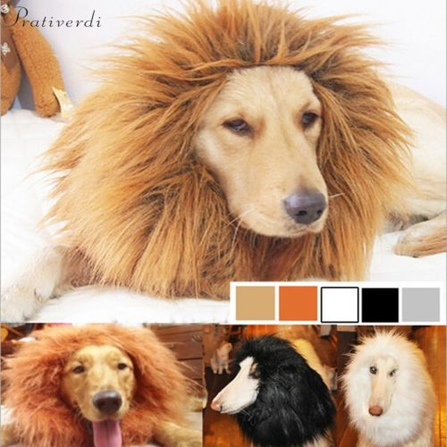 Dog Lion Costume Pet Accessory