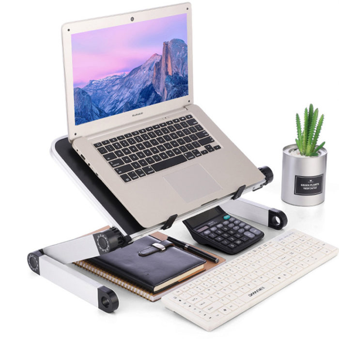 Foldable Laptop Table Computer Stand