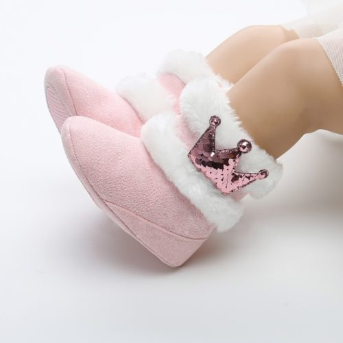 Baby Winter Boots Mid-Calf with Fur
