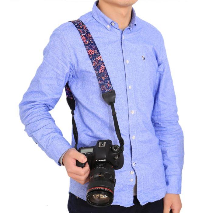 Camera Neck Strap Ethnic Design