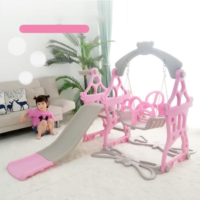 Swing and Slide Set Plastic Playground