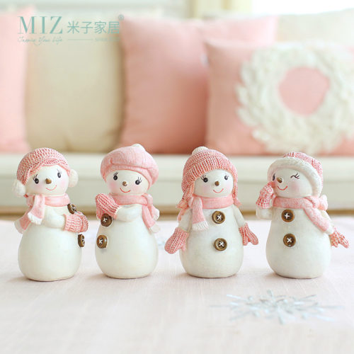 Snowman Figurine Christmas Decoration