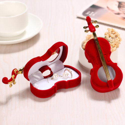 Jewelry Gift Box Guitar Shape
