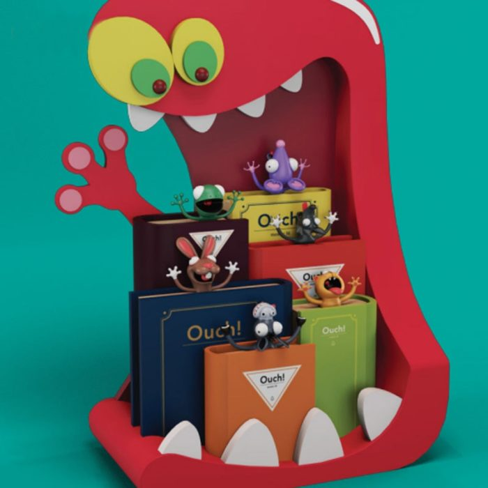 Cute Bookmarks 3D Funny Designs