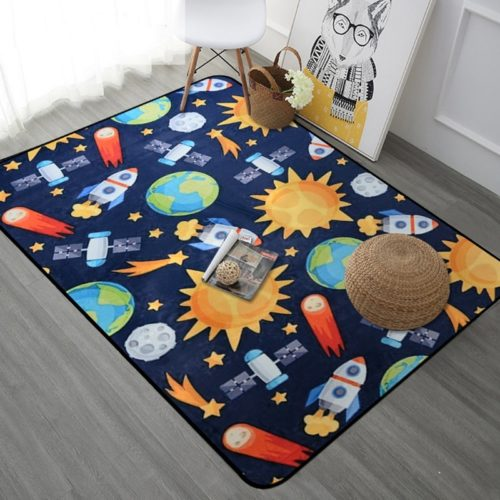 Carpet for Kids Room Universe Design