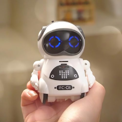 Interactive Robot Pocket Mini Toy