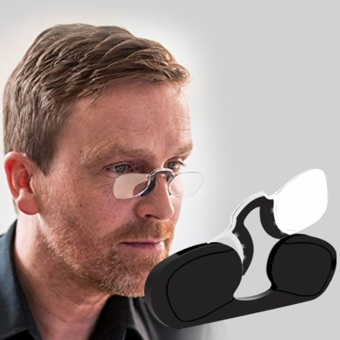 Rimless Eyeglasses Without Temples