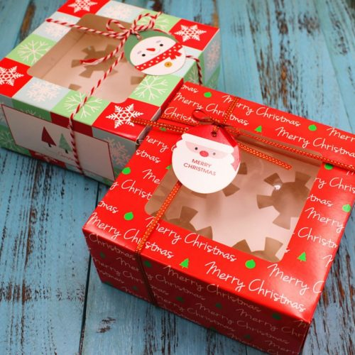 Christmas Box Gift Packaging