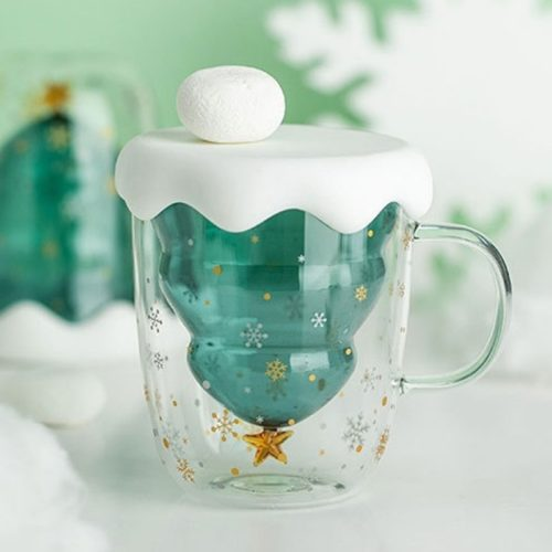 Christmas Cup Creative Double Layer