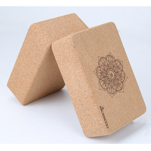 Cork Yoga Block Fitness Equipment