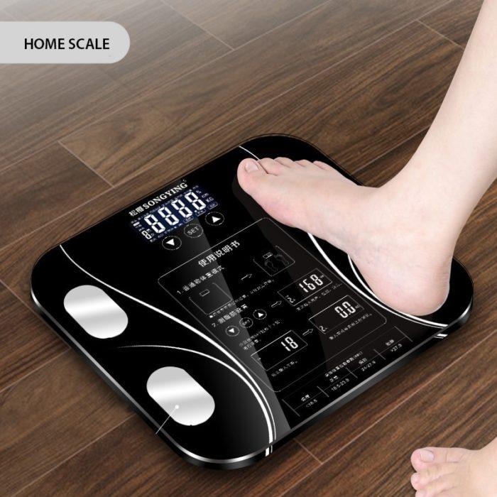 Bathroom Weighing Scale LCD Display