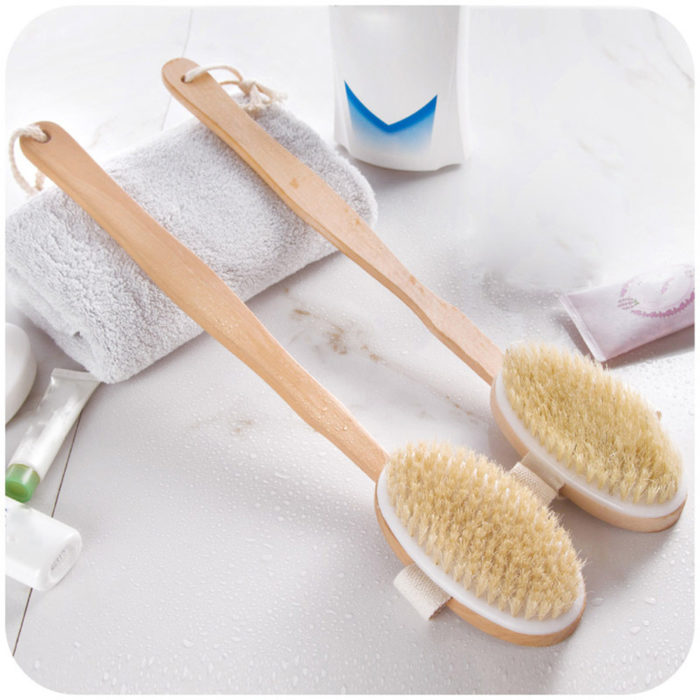 Exfoliating Body Brush Bath Scrub
