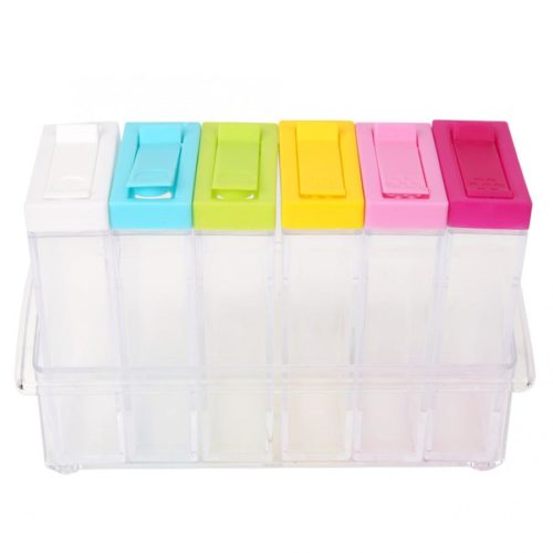 Condiment Holder 6-Slot Container