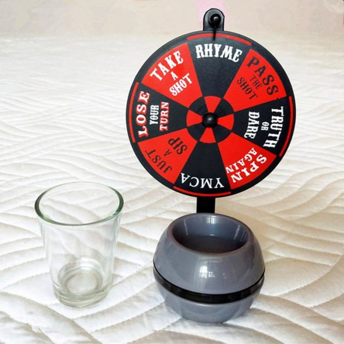 Drinking Roulette Fun Turntable Game