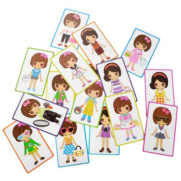 Magnetic Puzzle Dress Up Doll