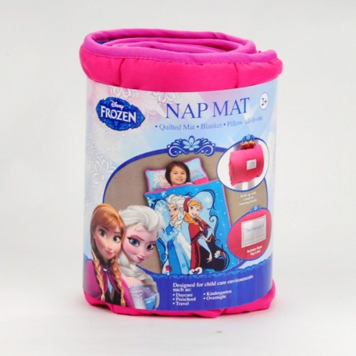 Kids Nap Mat With Pillow And Blanket