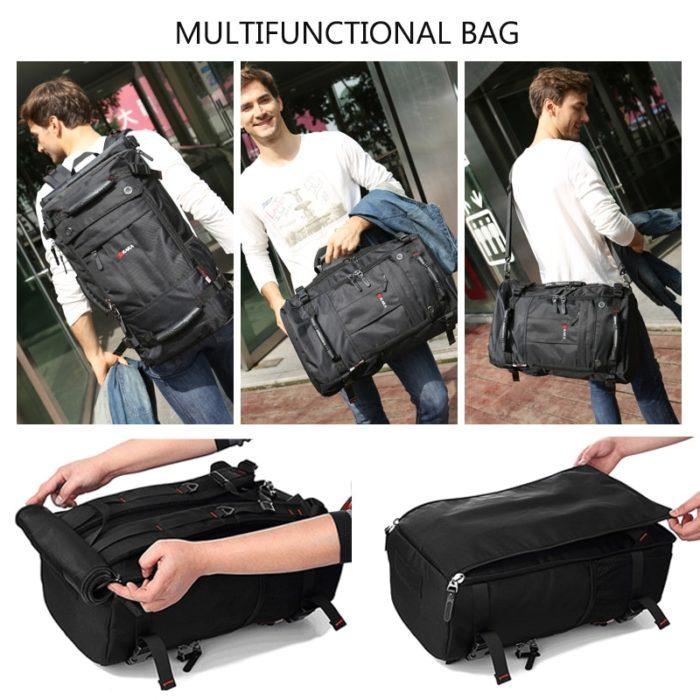 Waterproof Travel Backpack Portable Rucksack