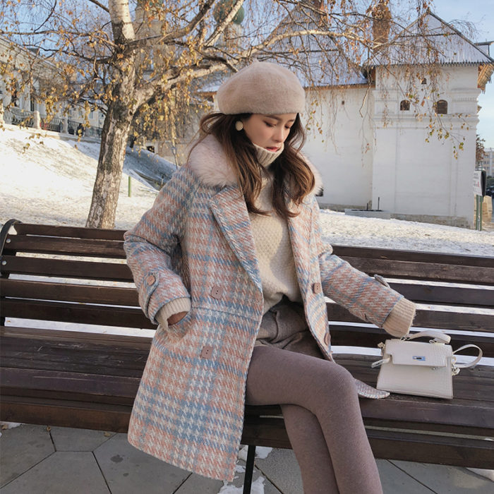 Long Winter Coat Women's Outerwear