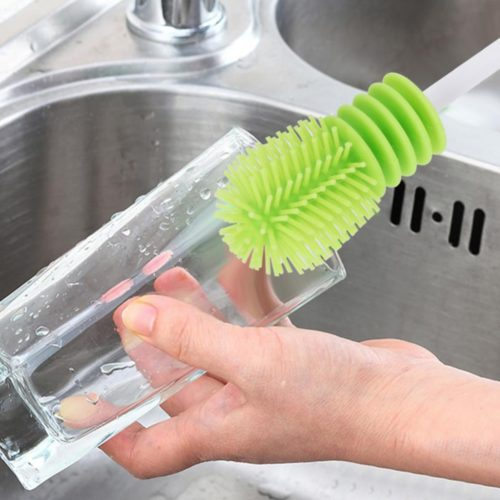 Bottle Cleaner Silicone Kitchen Brush