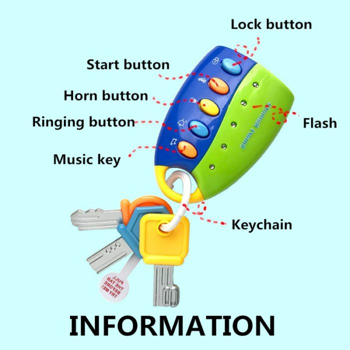 Toy Keys Musical Educational Kid's Toy