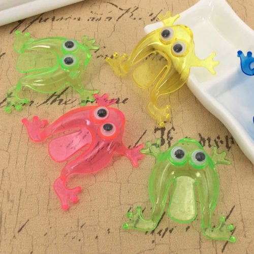 Jumping Frog Finger Pressing Jumping Toy