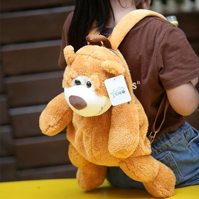 Teddy Bear Backpack Kids Plush Bag